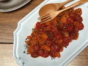 Pomodorini confit tomatoes